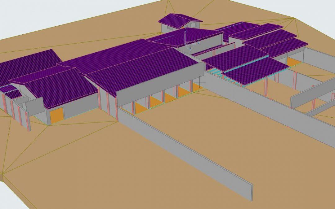 Scan to ArchiCAD – Planungsgrundlage für die Sanierung eines Schießstandes